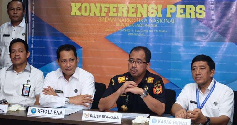Sinergi Bea Cukai-BNN Gagalkan Penyelundupan Sabu 69,2 Kg