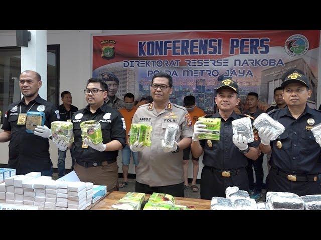 Pengungkapan Sindikat Narkotika Jaringan Malaysia